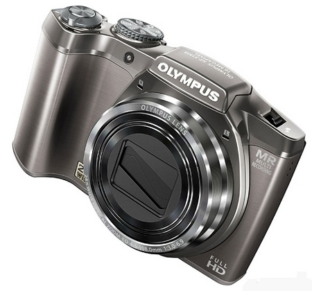 Olympus SZ-31MR iHS Camera with 24x Long Zoom silver