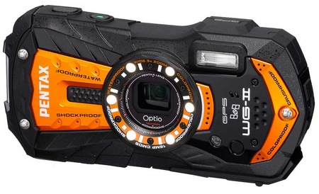 Pentax Optio WG-2 GPS Rugged Digital Camera orange