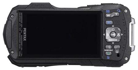 Pentax Optio WG-2 and Optio WG-2 GPS Rugged Digital Cameras back