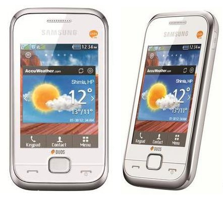 Samsung Champ Deluxe DUOS mobile phone