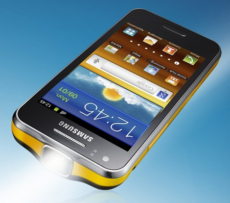 Samsung Galaxy Beam Dual-core Projector Smartphone 1