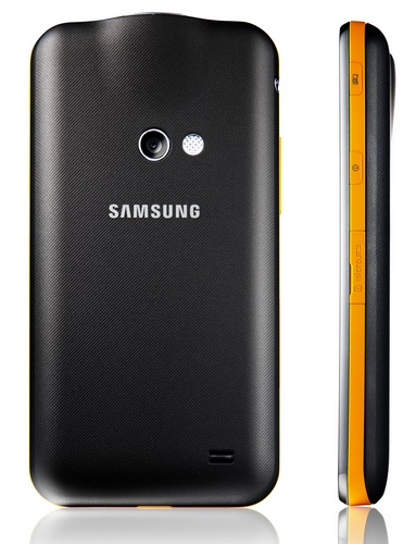 Samsung Galaxy Beam Dual-core Projector Smartphone back side