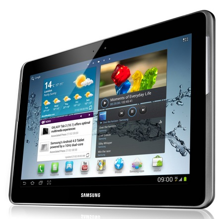 Samsung Galaxy Tab 2 10.1 Android 4.0 ICS Tablet