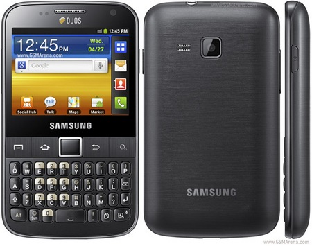Samsung Galaxy Y Pro DUOS Dual-SIM Android Phone