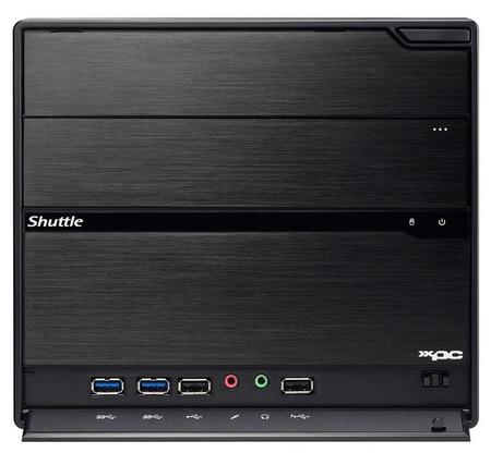 Shuttle XPC SZ68R5 Barebone Mini PC for 2nd Gen Intel Core front