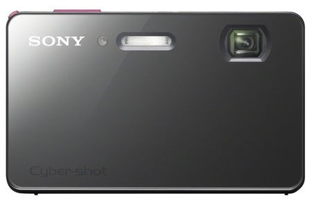 Sony Cyber-shot DSC-TX200V Slim, Stylish Waterproof Camera red front