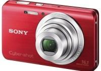 Sony Cyber-shot DSC-W650 digital camera red