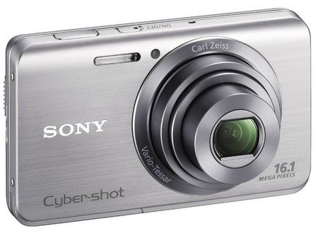 Sony Cyber-shot DSC-W650 digital camera silver
