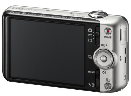 Sony Cyber-shot DSC-WX50 digital camera back