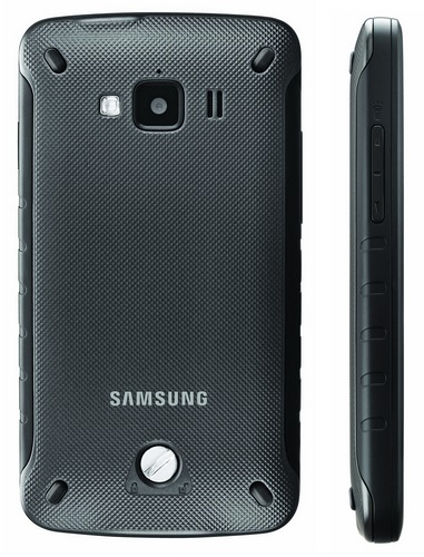 AT&T Samsung Rugby Smart Waterproof and Dustproof Smartphone back side