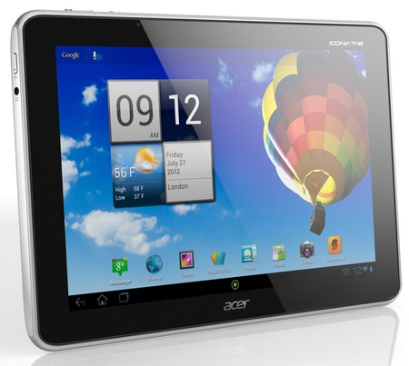 Acer Iconia Tab A510 Quad-core Android 4.0 Tablet
