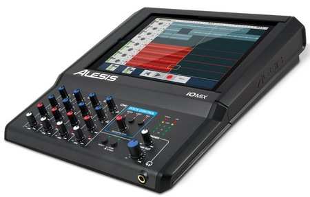Alesis iO Mix 4-Channel Mixer Recorder for iPad with ipad
