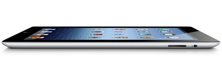 Apple announced the new iPad - A5X CPU, Retina Display and LTE 4G side