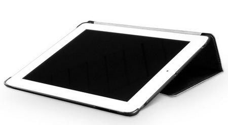 BoxWave Nuovo Case for the new iPad 3rd Gen typing viewing angle