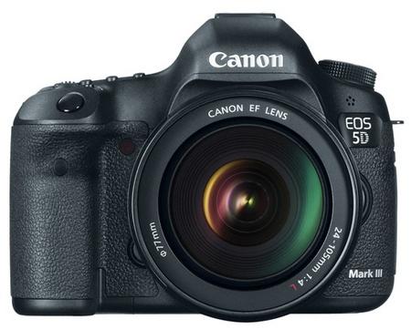 Canon EOS 5D Mark III Digital SLR Camera front