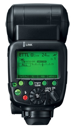 Canon Speedlite 600EX-RT Flash back