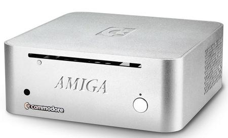 Commodore AMIGA mini Small Form Factor PC silver