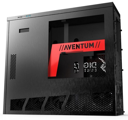 Digital Storm Aventum series Gaming PCs with Cryo-TEC Cooling System chassis