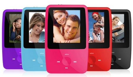 Ematic eSport Clip Portable Media Player colors