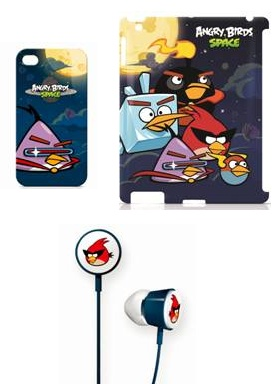 GEAR4 Angry Birds Space Cases and Headphones