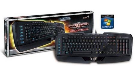 Genius Imperator Pro Professional MMORPG RTS Gaming Keyboard