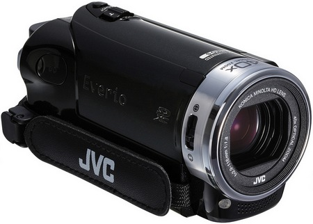 JVC Everio GZ-EX250 Full HD Camcorder with WiFi 1