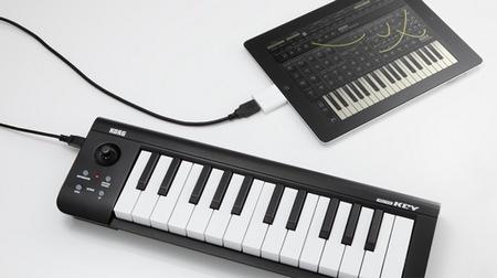 Korg microKEY 25 USB MIDI Keyboard with ipad