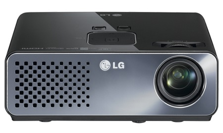 LG HW300G Portable LED Projector front