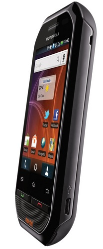 Motorola i867 Destino Push-to-Talk Android Smartphone angle