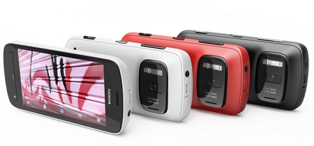 Nokia 808 PureView Smartphone with 41 Megapixel Camera colors
