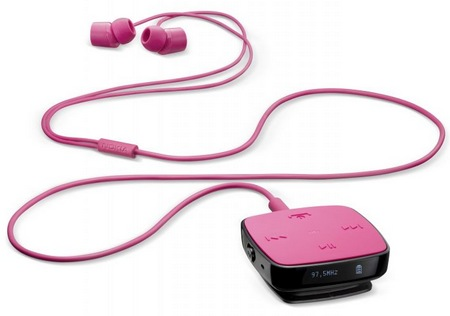 Nokia BH-221 Bluetooth Stereo Headset pink