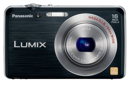 Panasonic LUMIX DMC-FH8 slim digital camera black