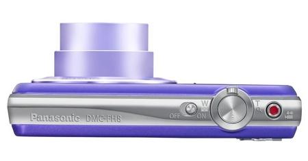Panasonic LUMIX DMC-FH8 slim digital camera top