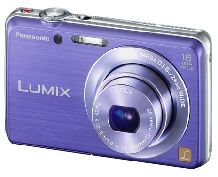 Panasonic LUMIX DMC-FH8 slim digital camera violet