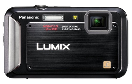Panasonic LUMIX DMC-TS20 Entry-level Rugged Camera black