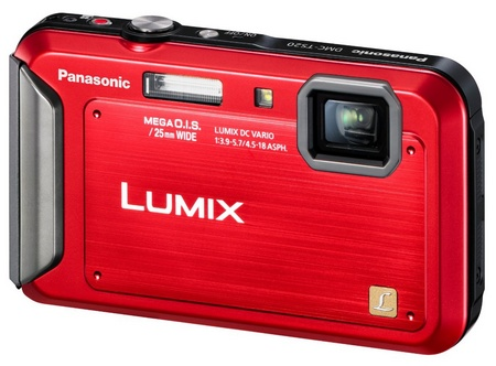 Panasonic LUMIX DMC-TS20 Entry-level Rugged Camera red