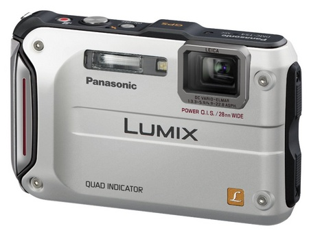 Panasonic LUMIX DMC-TS4 Rugged Camera with GPS silver
