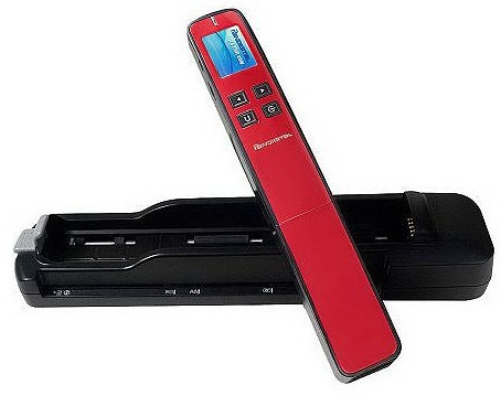 Pandigital PANSCN09 2-in-1 Portable Wand and Feed Scanner