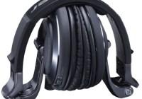 Pioneer HDJ-2000-K Professional DJ Headphones Now in Black Chrome folded