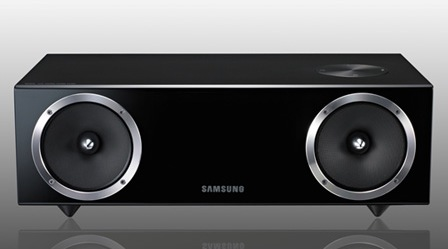 Samsung DA-E750 Vacuum Tube Audio Dock piano black