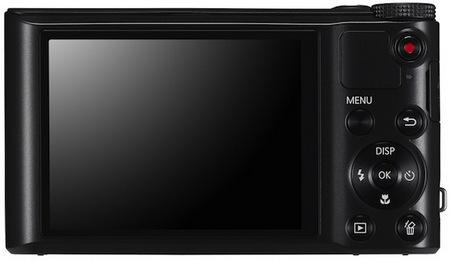 Samsung WB150F WiFi 18x long zoom camera back