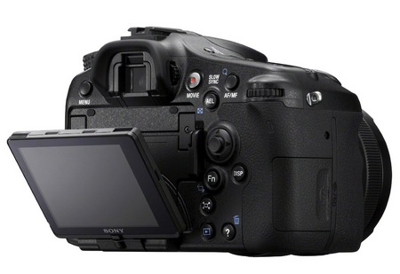 Sony Alpha A77 Translucent Mirror Camera adjustable display