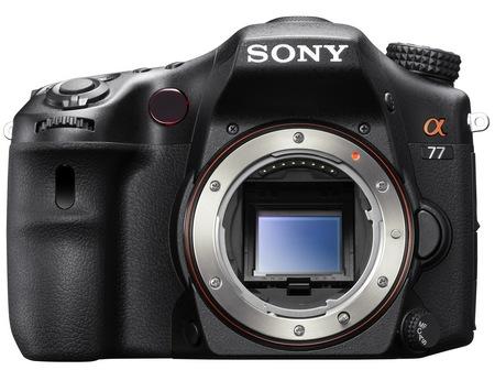 Sony Alpha A77 Translucent Mirror Camera no lens