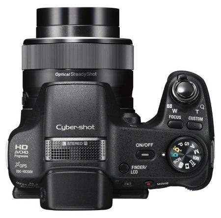 Sony Cyber-shot DSC-HX200V 30X Long Zoom Camera with GPS top