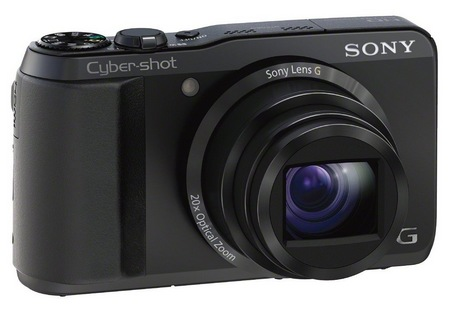 Sony Cyber-shot DSC-HX30V 20x optical zoom angle