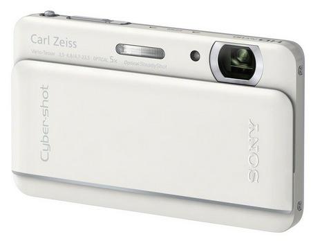 Sony Cyber-shot DSC-TX66 Ultra Slim Digital Camera white