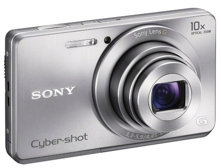 Sony Cyber-shot DSC-W690 Thinnest 10x Optical Zoom Camerasilver