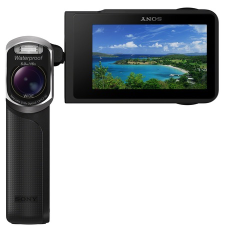 Sony Handycam GW55VE Waterproof Full HD Pocket Camcorder black 1