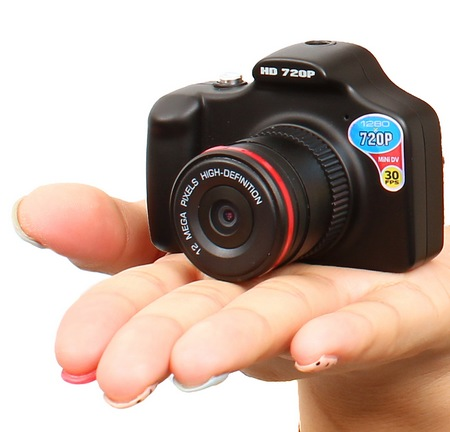 Thanko SUSMDLC1 Palm-sized DSLR-like Camcorder