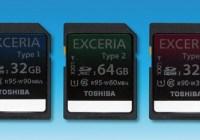 Toshiba EXCERIA Series Ultra High Speed SDHC SDXC cards